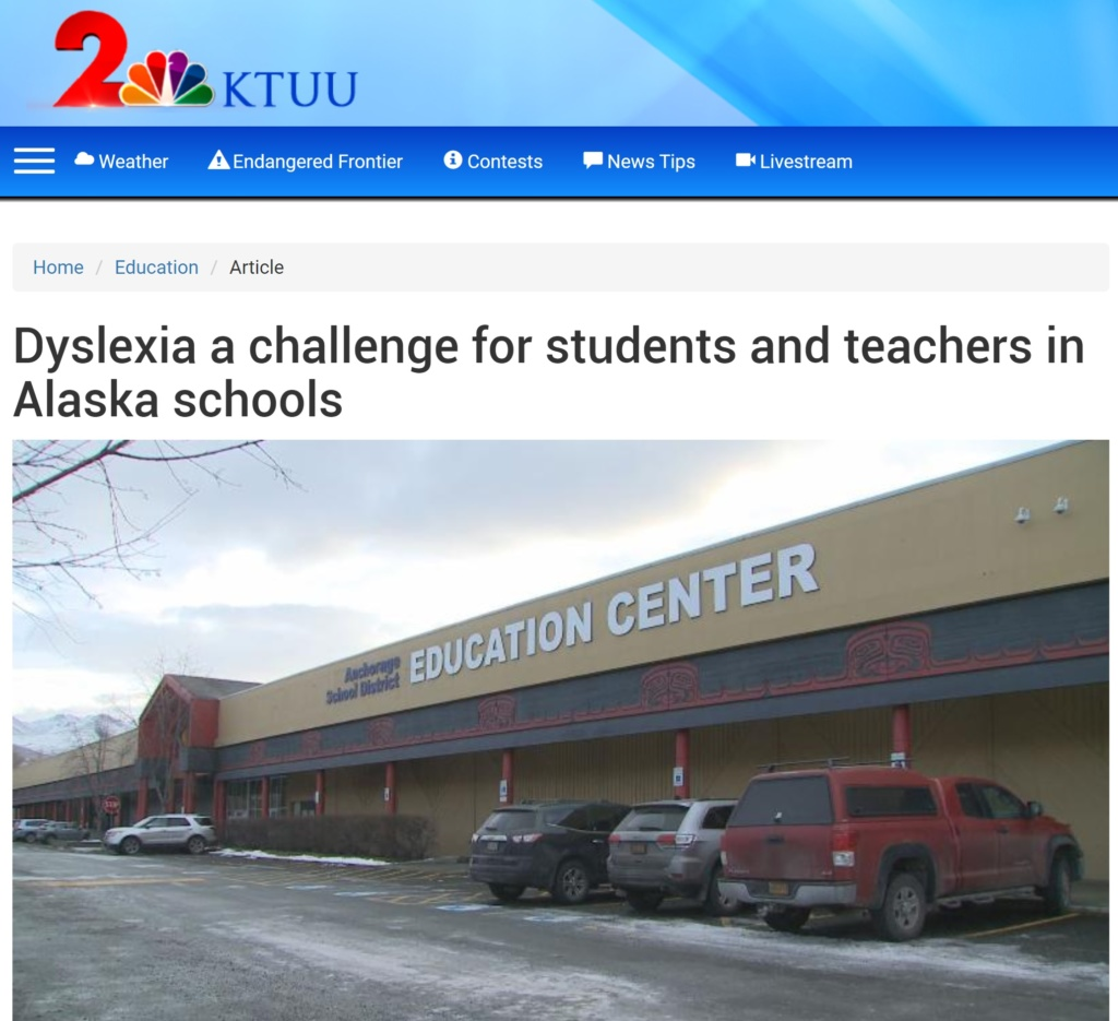 ktuu channel 2 news anchorage alaska alchemy prosthetics orthotics wil sundberg dyslexia
